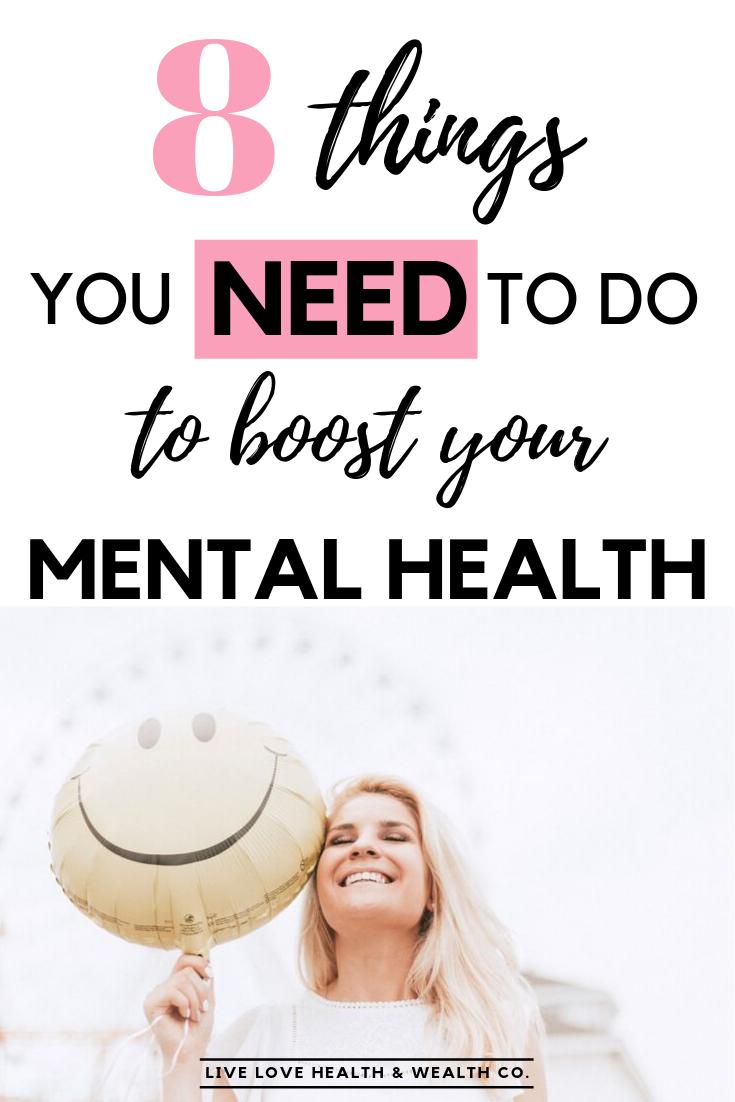 Boost mental health #1