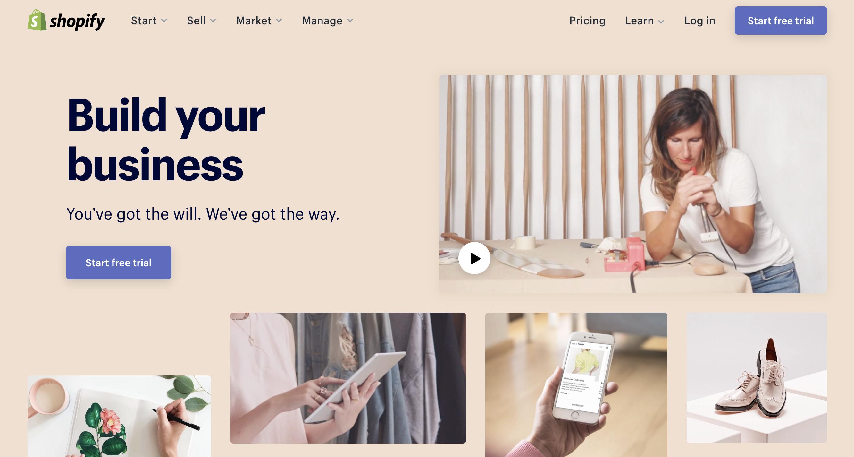 dropshipping shopify ecommerce website make money online