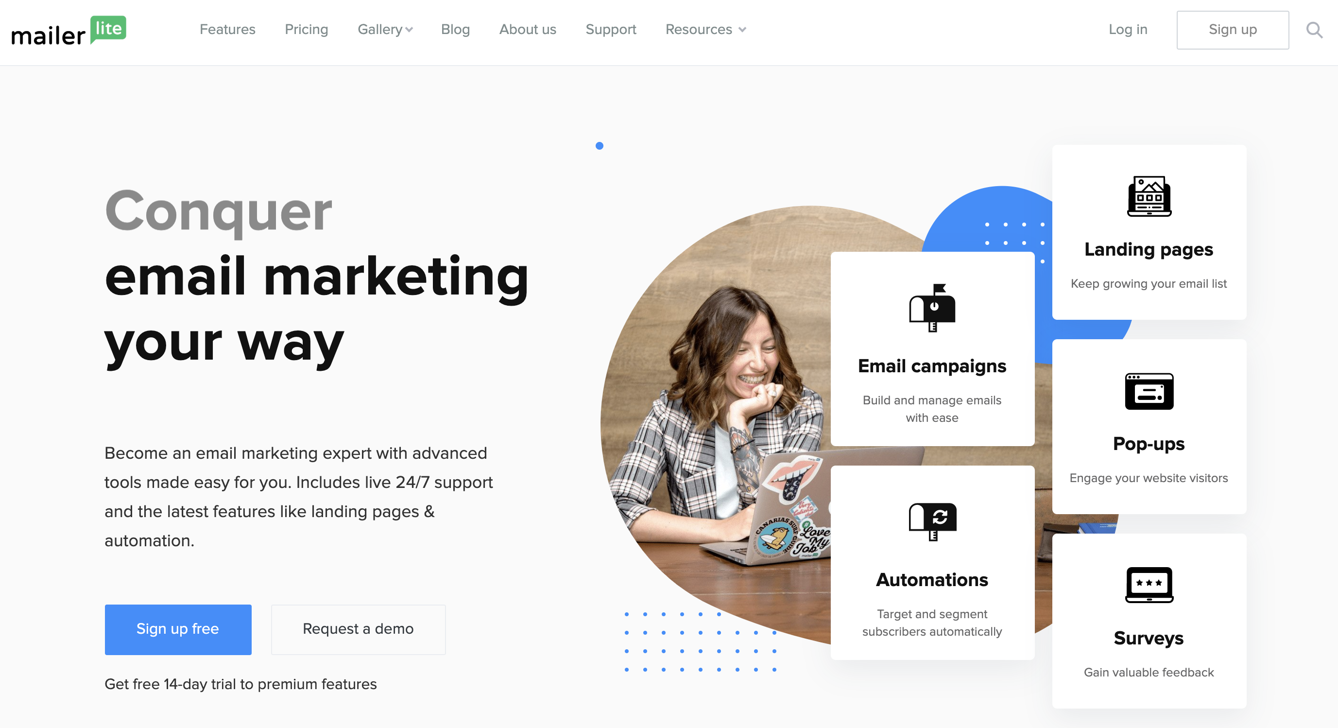 mailerlite email campaigns