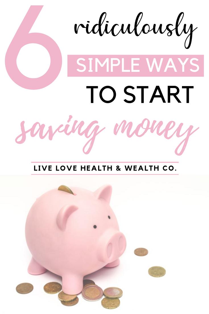 save money on a budget
