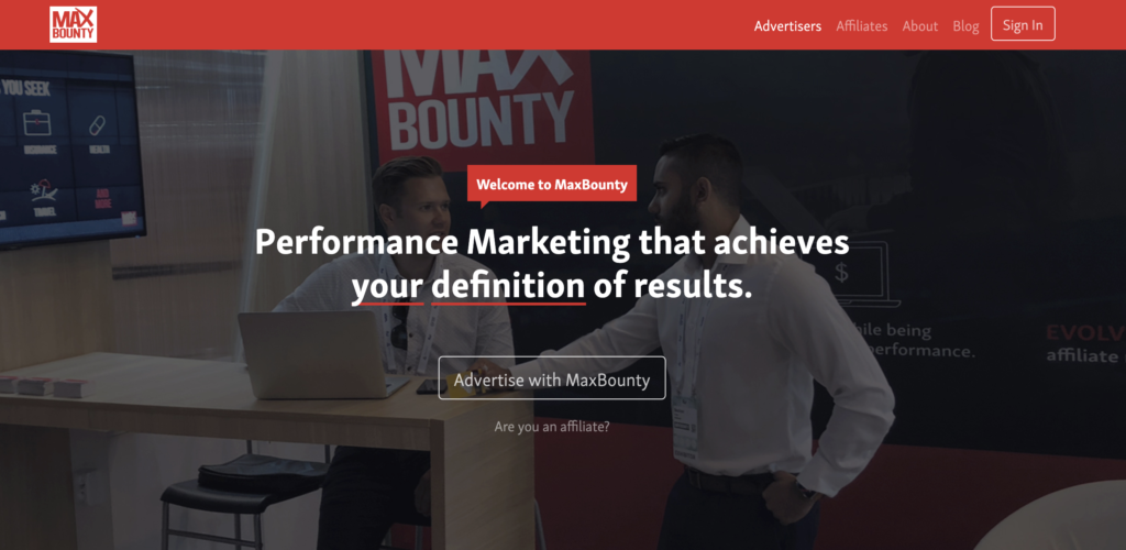 max bounty make money as an affiliate