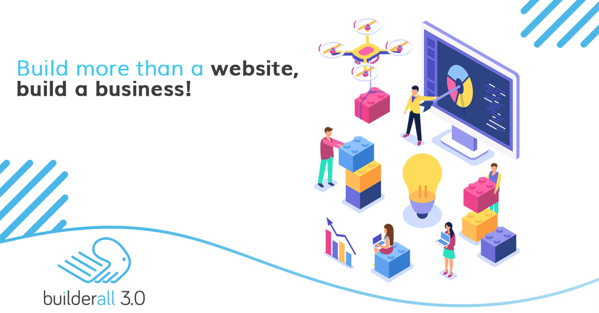 builderall build a website and landing page for free