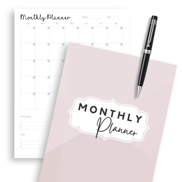 monthly planner printable, monthly planners, free printable planner